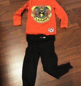 Пижама для мальчика h&m 104 см