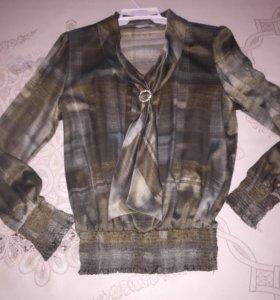 Шелковая блузка (новая)