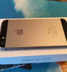iPhone 5s space grey 16gb отличное