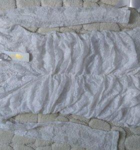 Платье кружево. Р. 40.42, 44