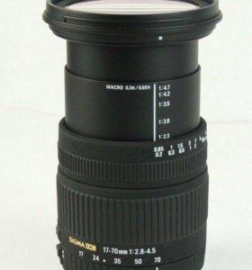 Sigma 17-70/2.8-4.5 macro for Nikon