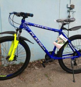 Новый велосипед platin. Алюминий