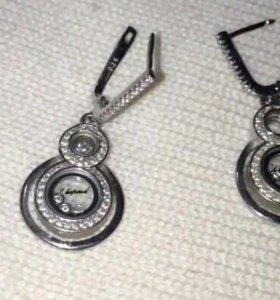 Серебрянные серьги 925
