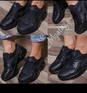 Хуарачи кожа кроссовки