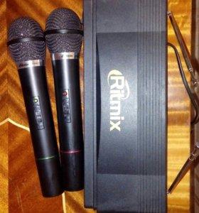 Микрофон вокальный радио