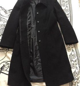 Пальто демисезонное драповое, пальто на подкладе