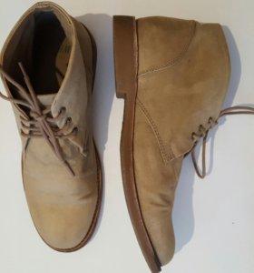 Весенние мужские ботинки