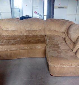 диван угловой правый угол