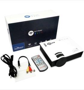 Домашний мини проектор с бесплатной доставкой