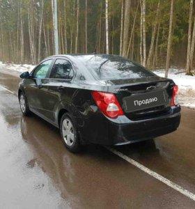 Chevrolet  AVEO 1,6АТ 116лс 2012г.