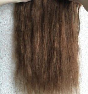 Волосы на заколках ( натуральные)