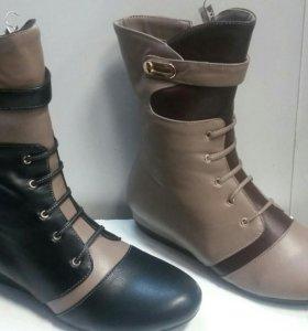ботинки жен.весенн.