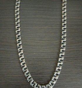 Серебряная цепочка 50 см