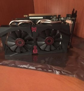 Новая Видеокарта GTX960 Asus STRIX 4GB