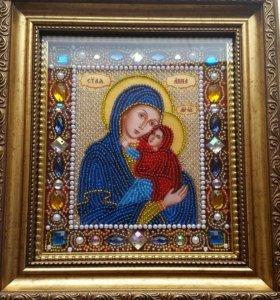 Именная икона Анна 13×15