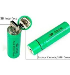 Батарейка с usb-зарядкой