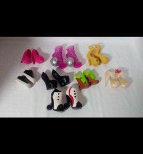 Туфли для кукол Monster High / Монстр Хай