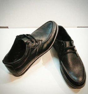 Новая Обувь (Мокасины) Мужская (Натуральная Кожа)