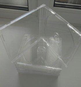 Коробки для дисков CD,DVD (Новые)