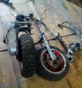Мотор,вилка,и всё остальное