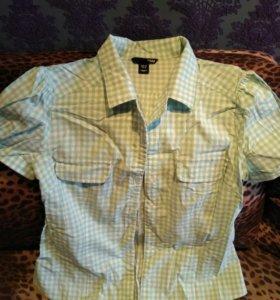 Рубашка H&M, 46 р.