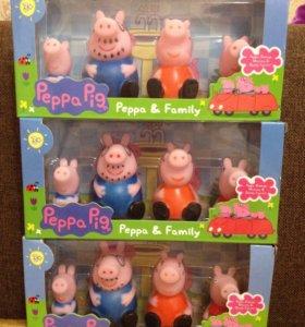 Семья свинок