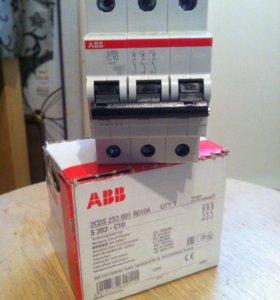 Abb автоматический выключатель s203-c10