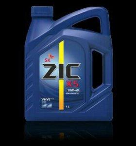Масло моторное ZIC X5 10W-40