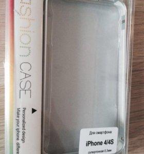 Бампер для iPhone 4/4s аллюминиевый