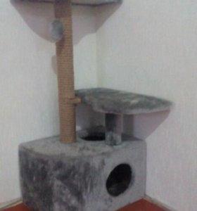 Дом для кота, с когтеточкой