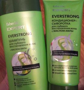 Шампунь и кондиционер для восстановления волос