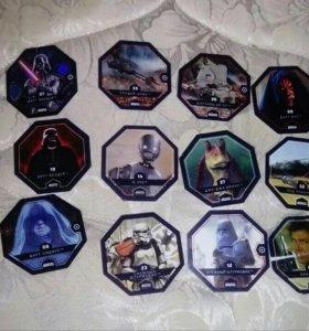 """18 Карточек """"Звёздные Войны"""""""