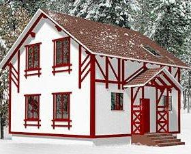 Дом 44 м² на участке 12 сот.