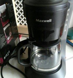 Кофеварка Maxwell с кофе-фильтрами