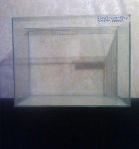 Новый аквариум 60литров