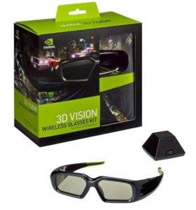 3D очки nvidia 3D Vision Wireless Glasses Kit