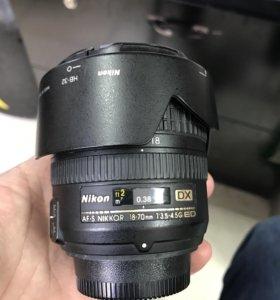 Объектив Nikon AF-S 18-70mm