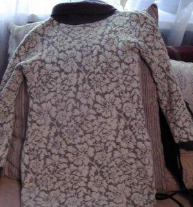 Теплое, шерстяное платье