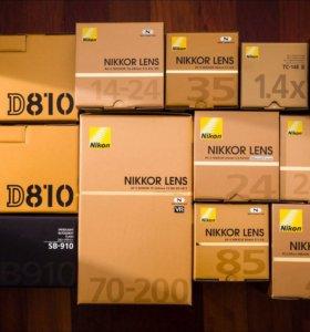 Nikon D810 24-70mm rst
