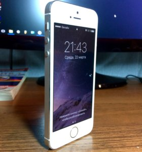 iPhone 5S, Silver, 64GB