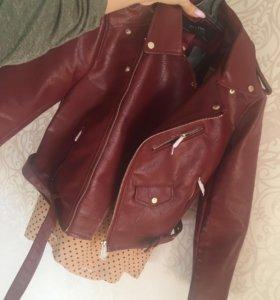 Куртка Zara косуха новая