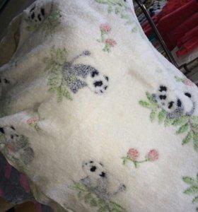 Одеяла детские  мягкие(новые)