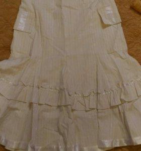 Летняя юбка 44 размера