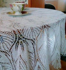 Волшебная кружевная скатерть на стол
