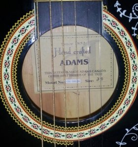 🎸 гитара акустическая ADAMS+чехол