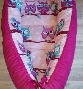 Гнездо-кокон для малыша, очень удобная вещь !
