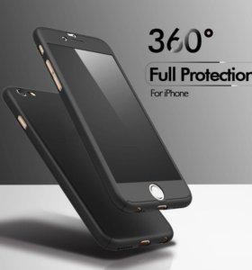 Чехол 360гр iphone 5, 6, 6 plus, 7