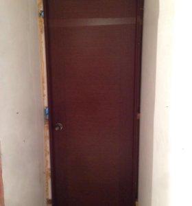 Межкомнатные двери массив Бэу 5штук
