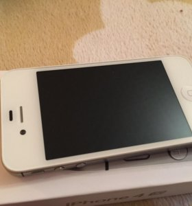 iPhone 4s white 32gb комплект