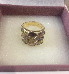 Золотое кольцо из итальянского золота
